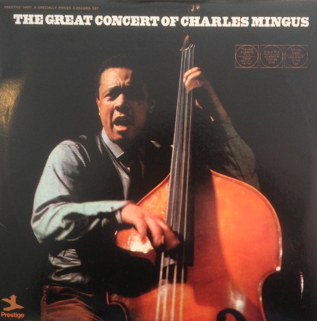 CHARLES MINGUS / GREAT CONCERT OF CHARLES MINGUS