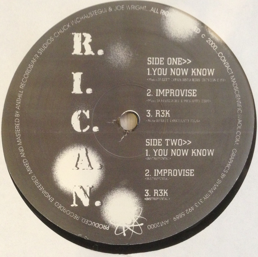 R.I.C.A.N. / YOU NOW KNOW