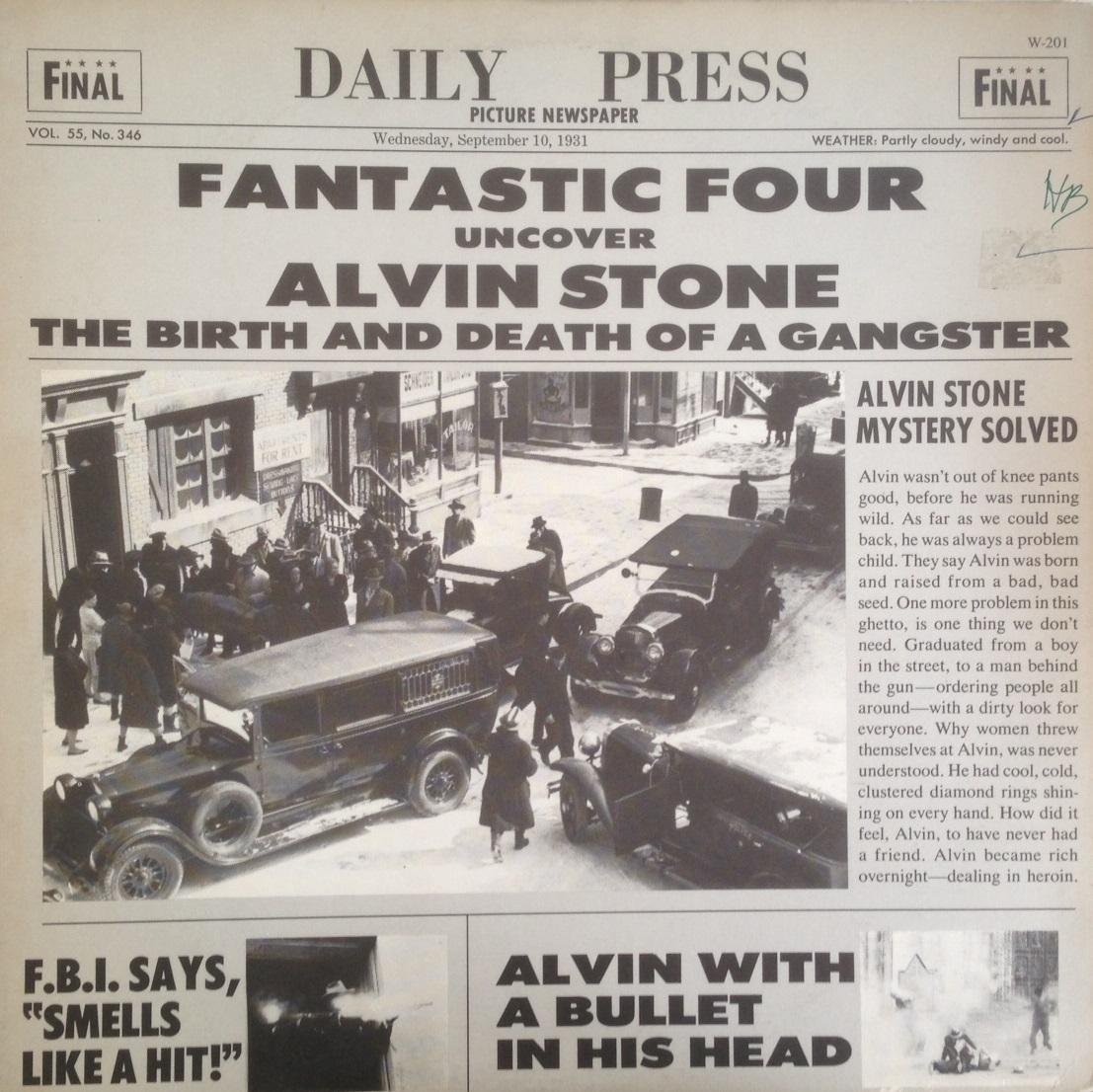 FANTASTIC FOUR / ALVIN STONE (BIRTH AND DEATH OF