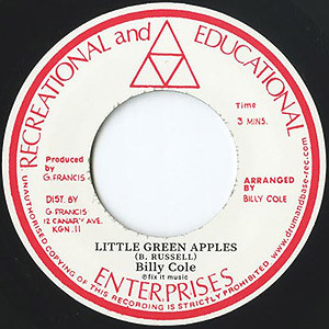 BILLY COLE / LITTLE GREEN APPLES