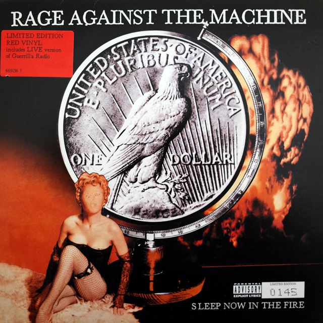 RAGE AGAINST THE MACHINE ‎/ SLEEP NOW IN THE FIRE