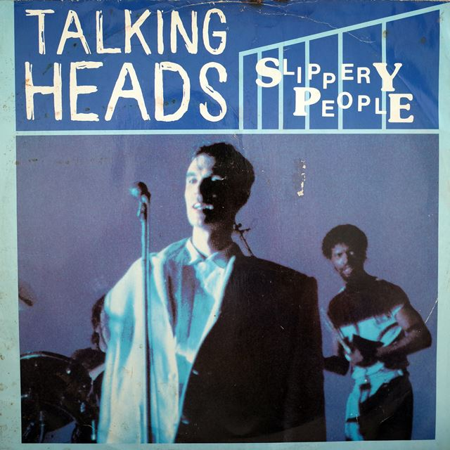 TALKING HEADS ‎/ SLIPPERY PEOPLE