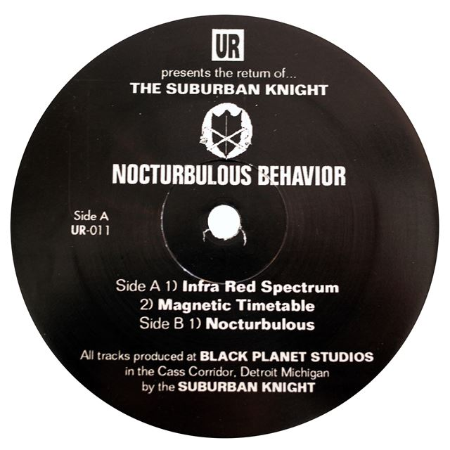 SUBURBAN KNIGHT ‎/ NOCTURBULOUS BEHAVIOR