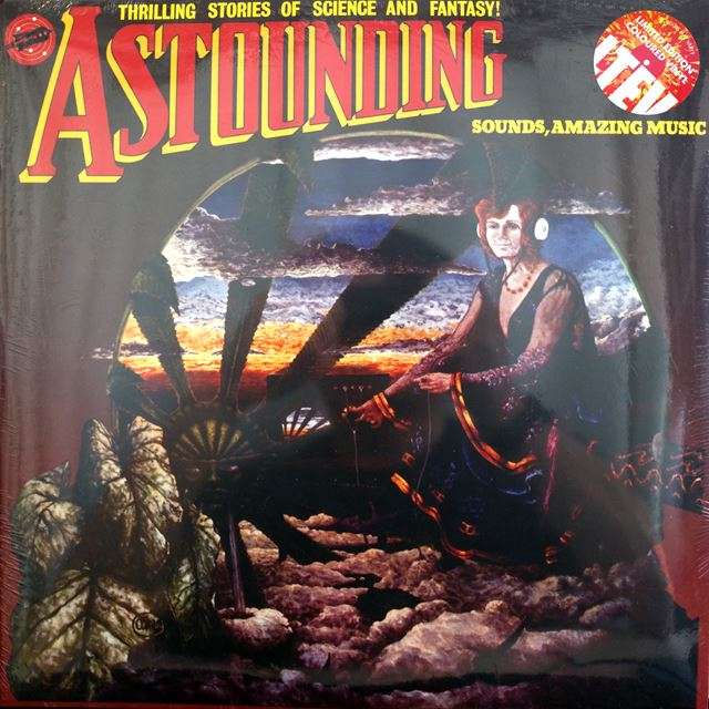 HAWKWIND ‎/ ASTOUNDING SOUNDS AMAZING MUSIC