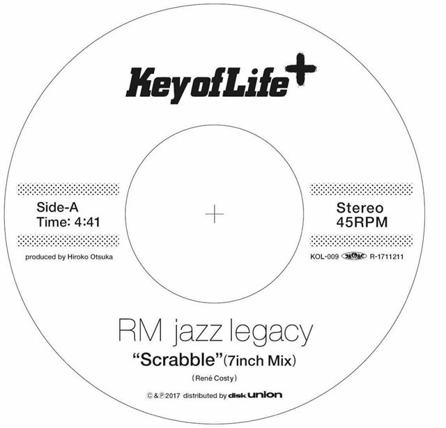 RM JAZZ LEGACY / SCRABBLE (7INCH MIX) / MOVE YOUR