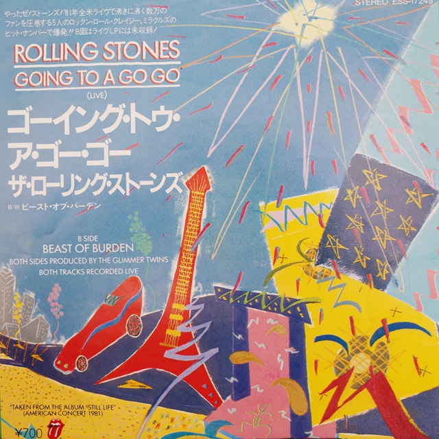 ROLLING STONES ‎/ GOING TO A GO GO (LIVE)