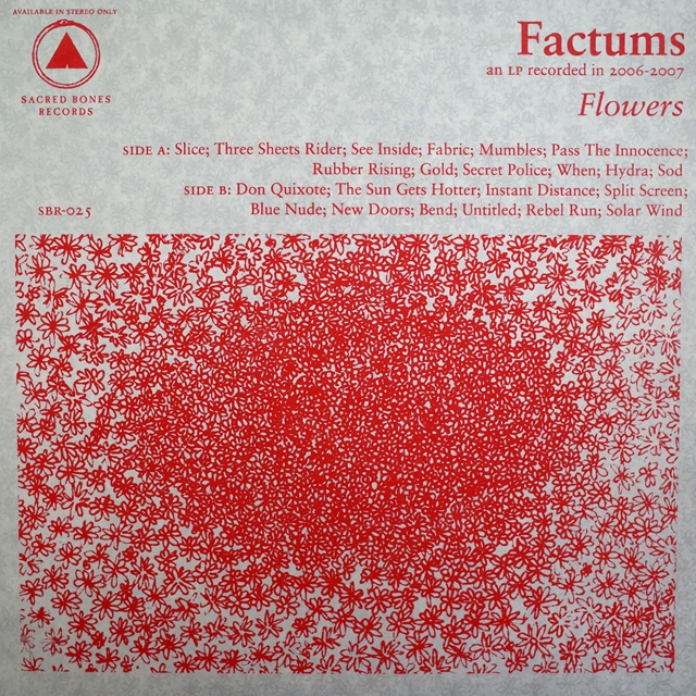 FACTUMS ‎/ FLOWERS