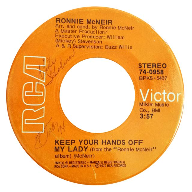 RONNIE MCNEIR ‎/ IN SUMMERTIME / KEEP YOUR HANDS