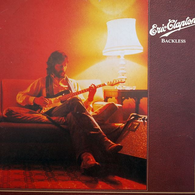 ERIC CLAPTON ‎/ BACKLESS