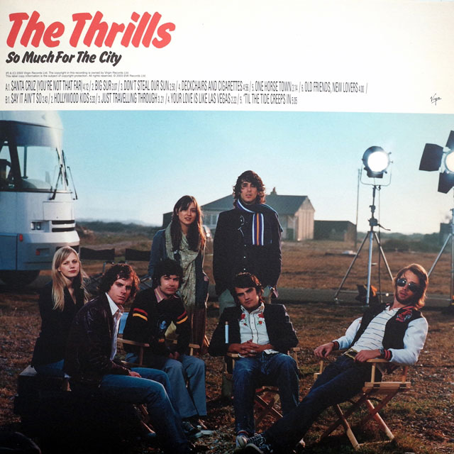 THRILLS ‎/ SO MUCH FOR THE CITY