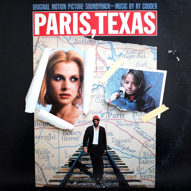 RY COODER ‎/ PARIS, TEXAS ORIGINAL MOTION PICTURE