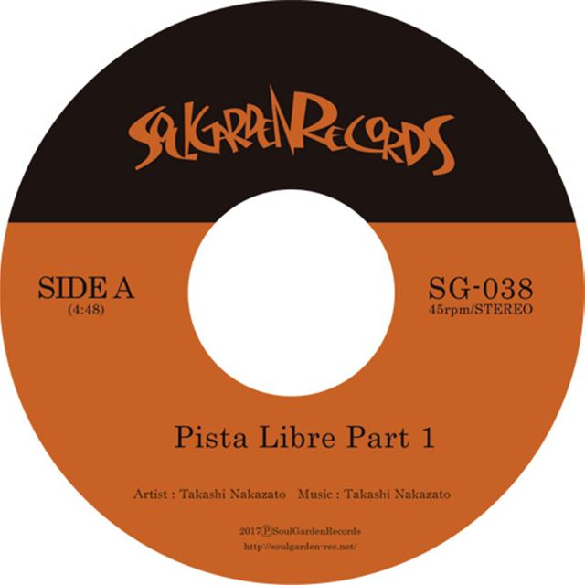 TAKESHI NAKAZATO / PISTA LIBRE PART 1 & 2