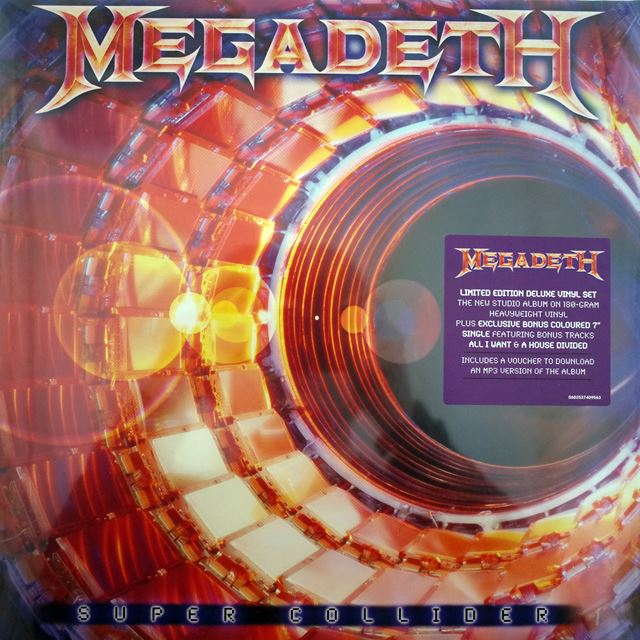 MEGADETH ‎/ SUPER COLLIDER
