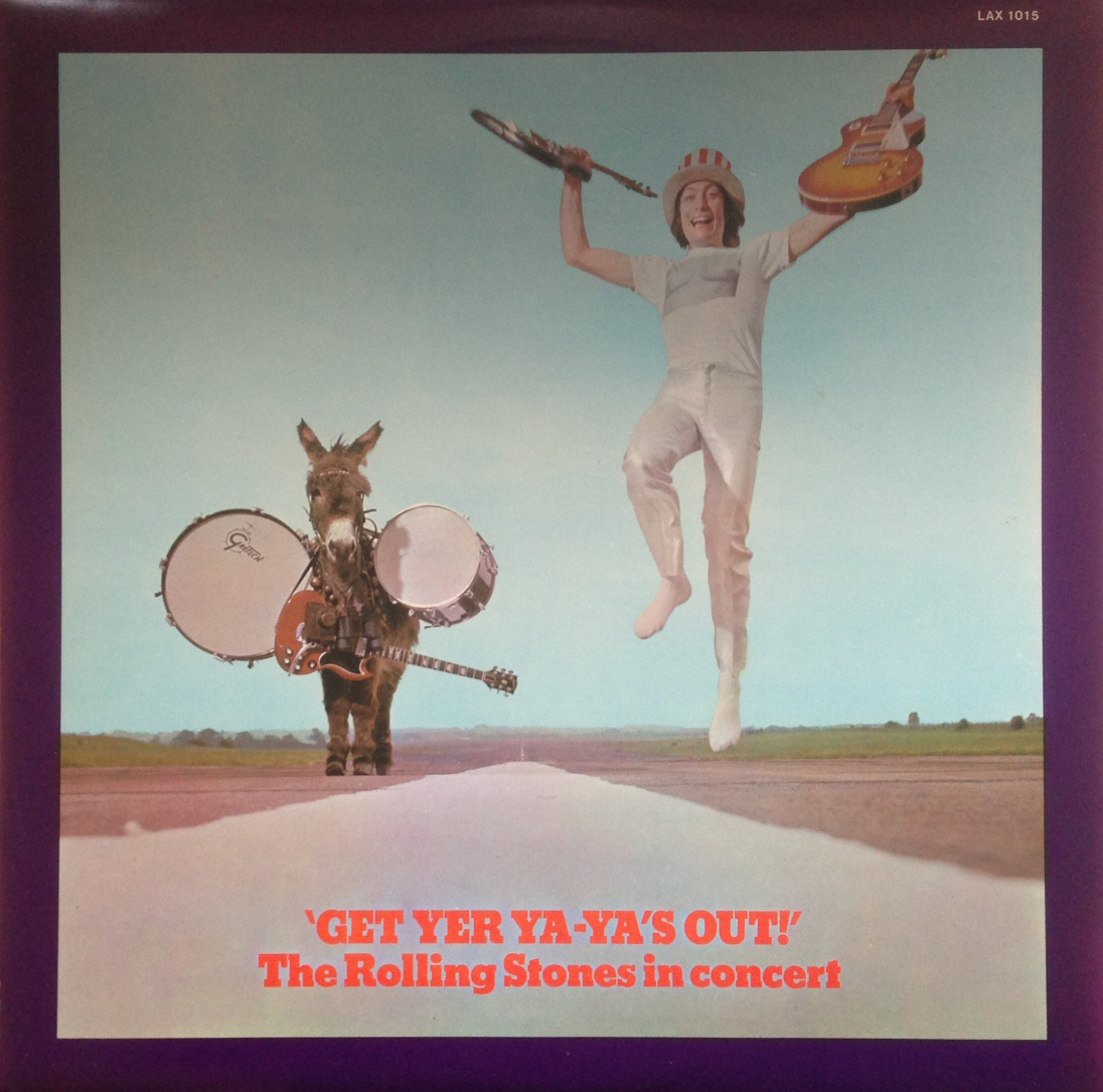 ROLLING STONES / GET YER YA-YA'S OUT!