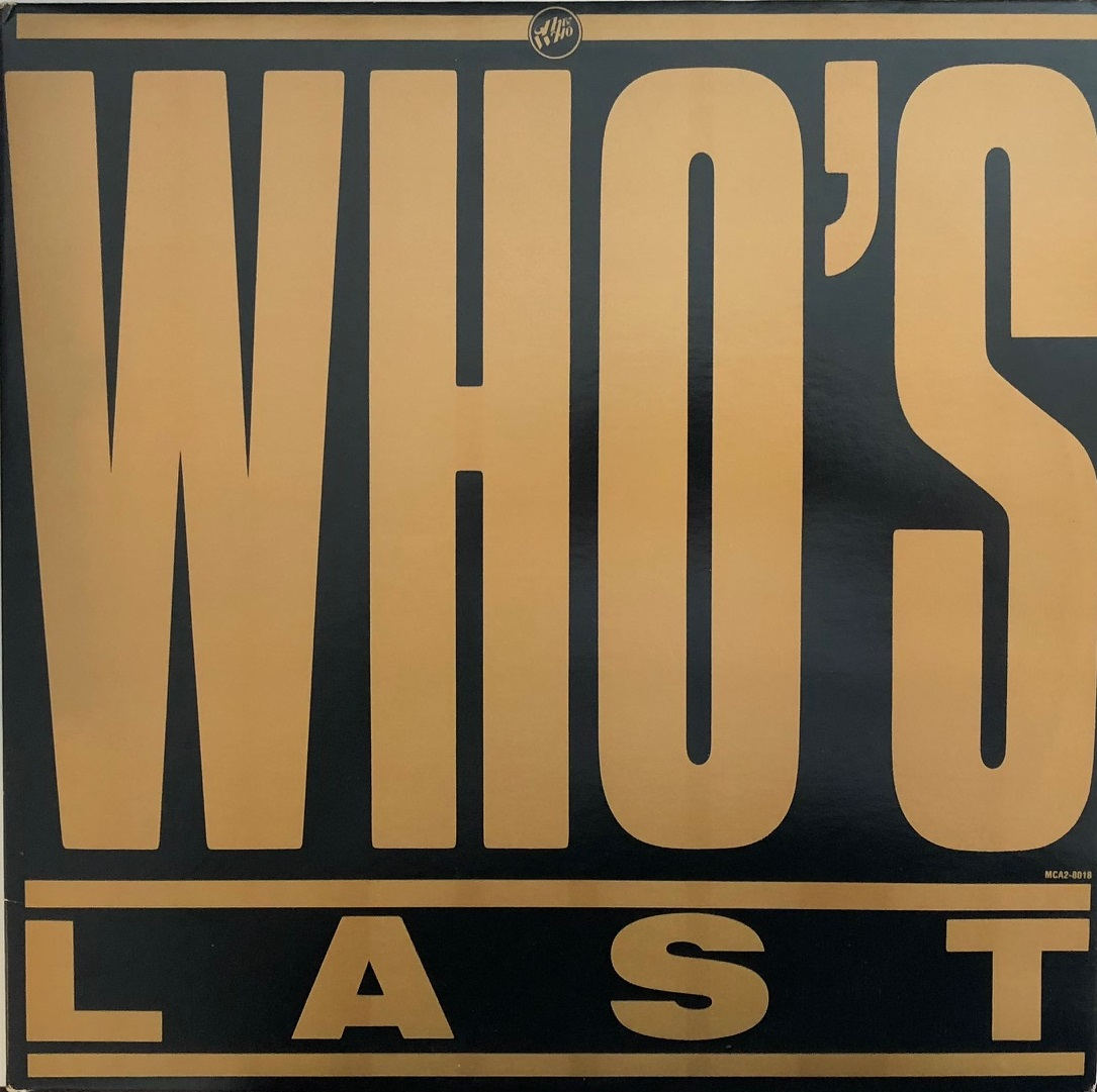 WHO / WHO'S LAST