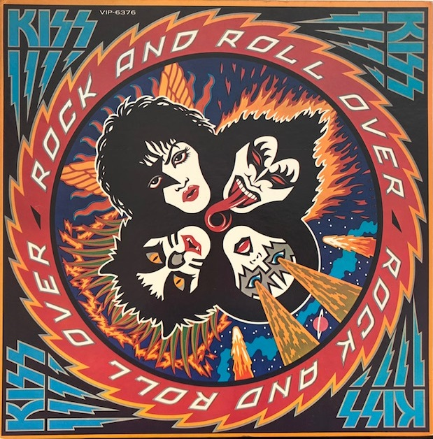 KISS ‎/ ROCK AND ROLL OVER