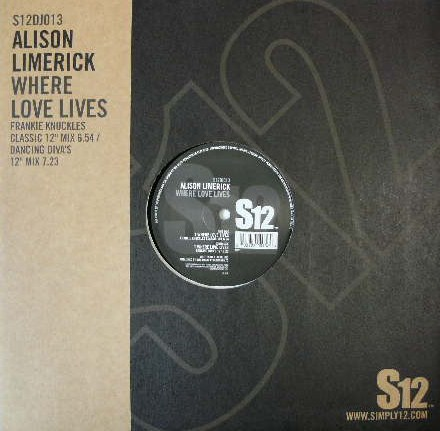 ALISON LIMERICK / WHERE LOVE LIVES