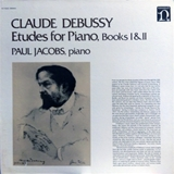 CLAUDE DEBUSSY / ETUDES FOR PIANO, BOOKS I & II
