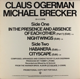 CLAUS OGERMAN / IN THE PRESENCE AND ABSENCE
