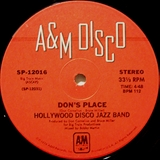 HOLLYWOOD DISCO JAZZ BAND feat WATERS / DON'S PLACE
