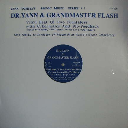 DR. YANN & GRANDMASTER FLASH / BEAT OF TWO TURNTAB