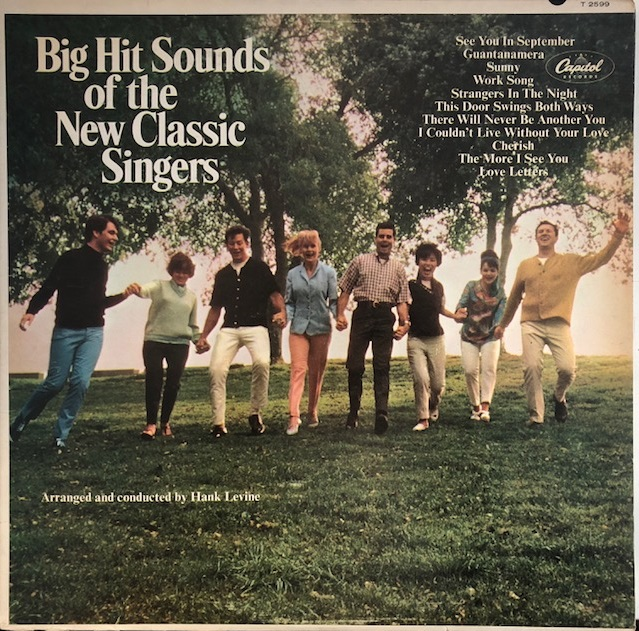 HANK LEVINE / BIG HIT SOUNDS OF THE NEW CLASSIC SINGERS