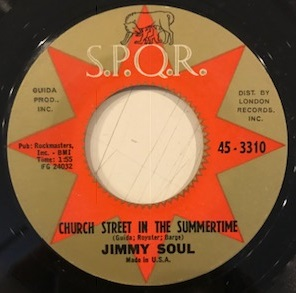 JIMMY SOUL / CHURCH STREET IN THE SUMMERTIME