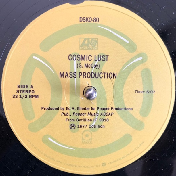 MASS PRODUCTION / COSMIC LUST