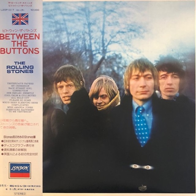 ROLLING STONES / BETWEEN THE BUTTONS