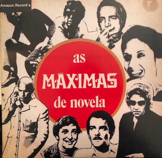 ORQUESTRA NAMORADOS DA TV ‎/ AS MAXIMAS DE NOVELA
