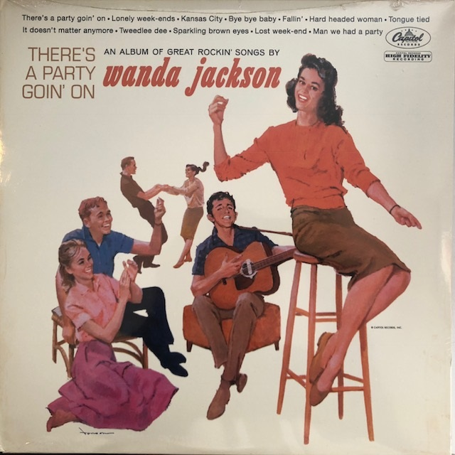 WANDA JACKSON / THERE'S A PARTY GOIN ON