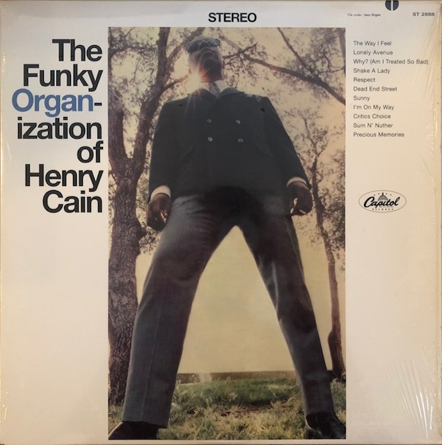HENRY CAIN / FUNKY ORGANIZATION OF HENRY CAIN