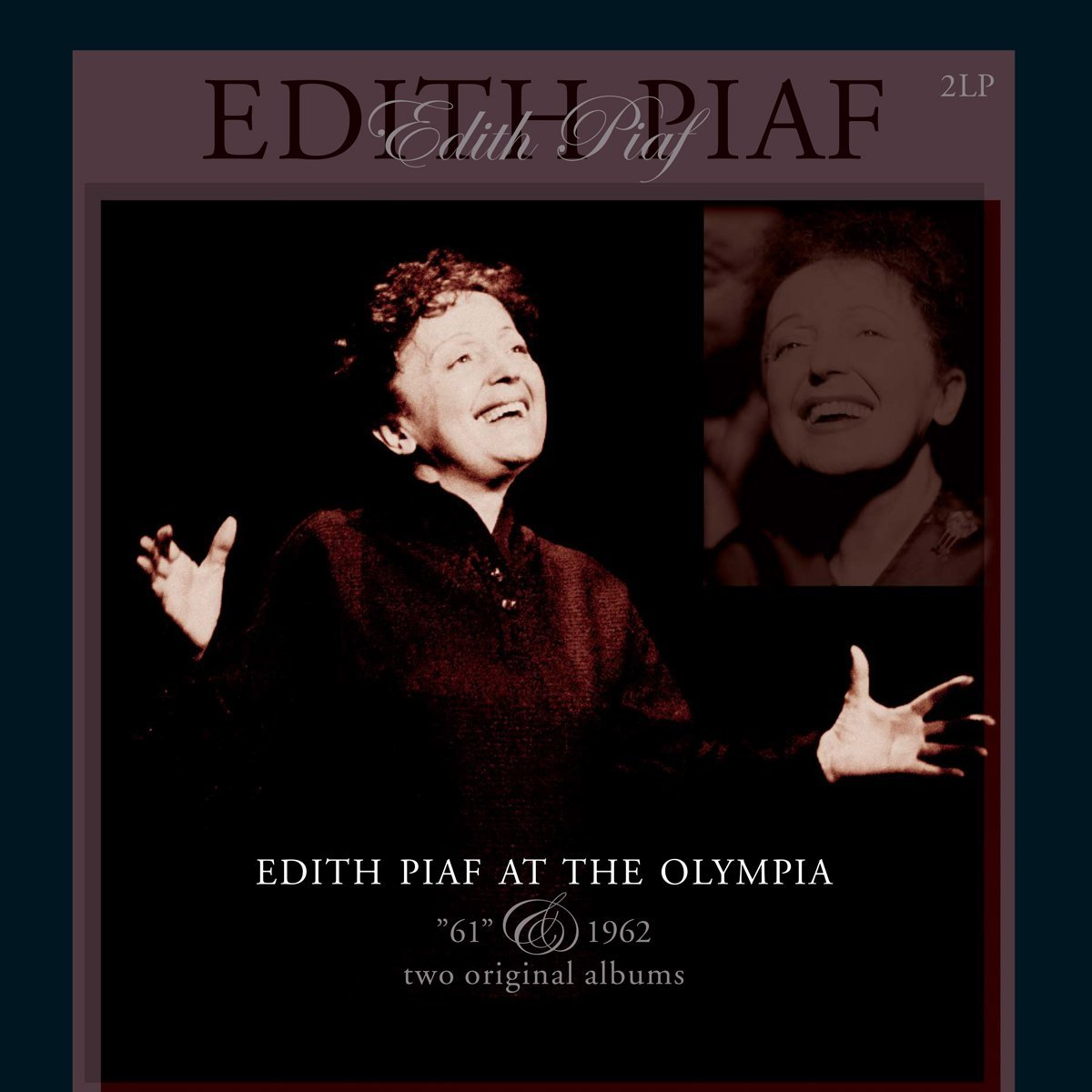 EDITH PIAF / AT THE OLYMPIA 1961 & 1962