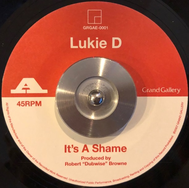 LUKIE D / PAM HALL / IT'S A SHAME / I BELIEVE IN MIRACLES