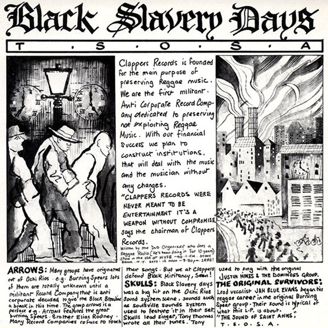 VARIOUS (SKULLS、T.S.O.S.A.) / BLACK SLAVERY DAYS