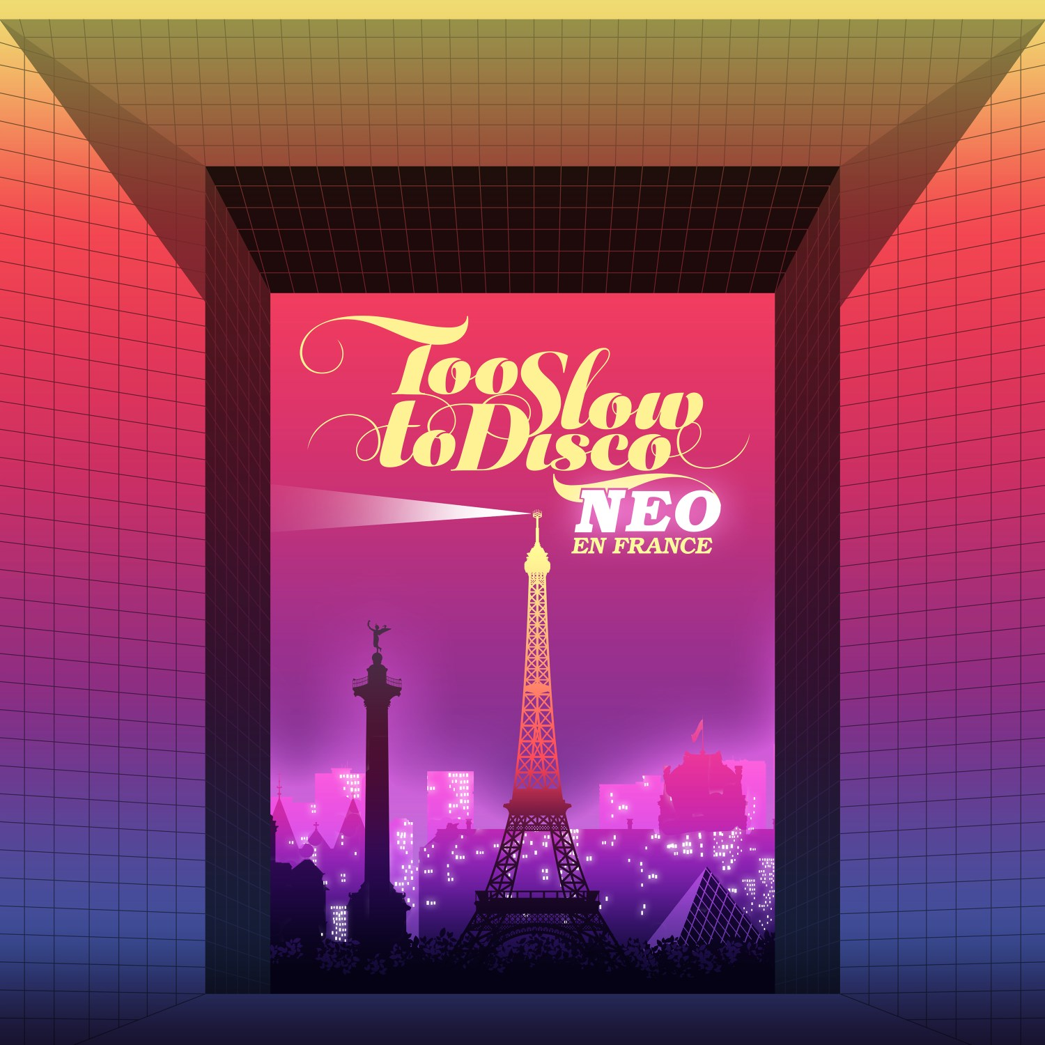 VARIOUS (POOM) / TOO SLOW TO DISCO NEO - EN FRANCE