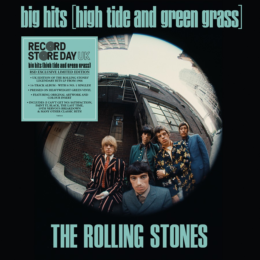 ROLLING STONES / BIG HITS (HIGH TIDE AND GREEN GRASS)