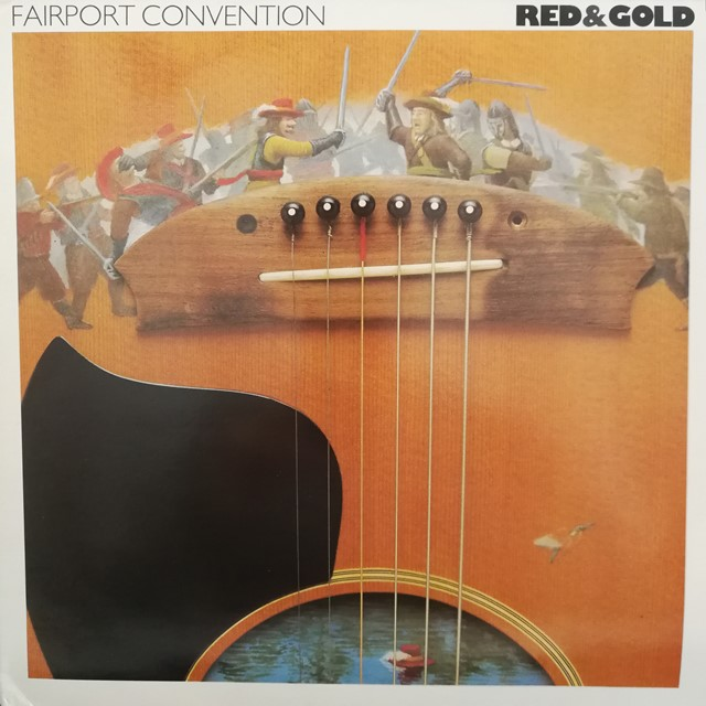 FAIRPORT CONVENTION ‎/ RED & GOLD