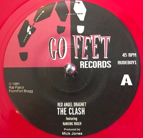 CLASH FEATURING RANKING ROGER ‎/ RED ANGEL DRAGNET