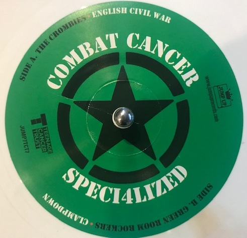 THE CROMBIES / GREEN ROOM ROCKERS ‎/ CLASH GOES JAMAICAN COMBAT CANCER