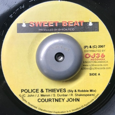 COURTNEY JOHN / POLICE & THIEVES