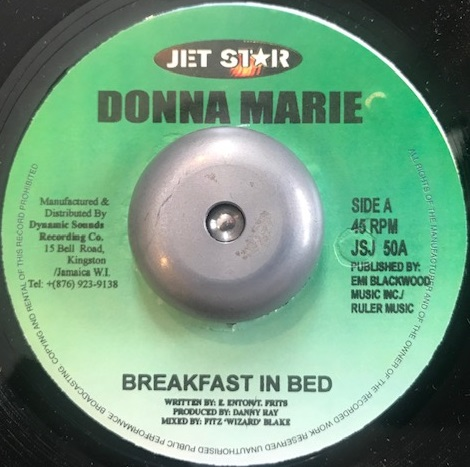 DONNA MARIE / BREAKFAST IN BED