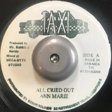 ANN MARIE / ALL CRIED OUT